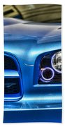 Dodge Charger Front Beach Towel