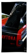 Dodge Daytona Fin 02 Beach Towel