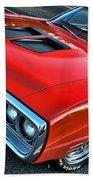 Dodge Super Bee In Red Beach Towel