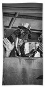 Dog On The Campaign Trail Beach Towel