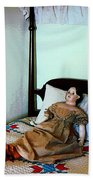 Doll On Four Poster Bed Beach Towel