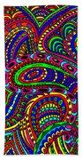 Doodle 3 Beach Towel