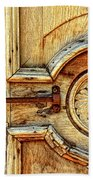 Door Study Taos New Mexico Beach Towel