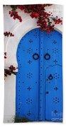 Doorway In Tunisia 1 Beach Towel