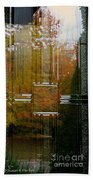 Doorway To Autumn Beach Towel