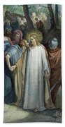 Dor�: Betrayal Of Christ Beach Towel