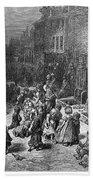 Dor�: London, 1872 Beach Towel