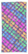 Dotted Check Beach Towel