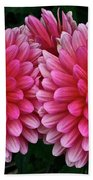 Double Dahlia Beach Towel
