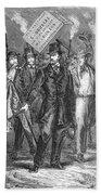Douglas: Election Of 1860 Beach Towel