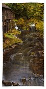 Down By The Old Mill Stream Beach Towel