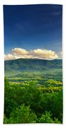 Down In The Valley Beach Towel