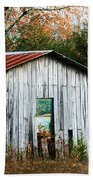 Down On The Farm - Old Shed Beach Towel