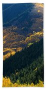 Downhill Flow Beach Towel