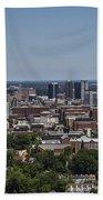 Downtown Birmingham Alabama Beach Towel