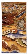 Dragon Art Beach Towel