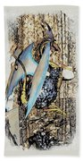 Dragon Reflexions And Repetition Beach Towel