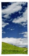 Dramatic Big Sky Beach Towel