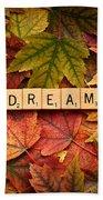 Dream-autumn Beach Towel
