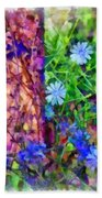 Dreaming Night And Day Beach Towel