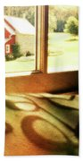 Dreams From The Window Seat Beach Towel