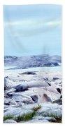 Dreamy Coastal Scene Beach Towel