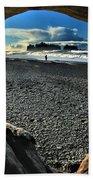 Drift Wood Frame Beach Towel