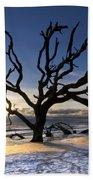 Driftwood Beach At Dawn Beach Towel