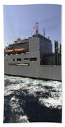 Dry Cargoammunition Ship Usns Richard Beach Towel