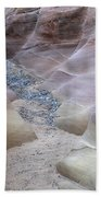 Dry Creek Bed 3 Beach Towel by Bob Christopher