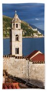Dubrovnik Architecture Beach Towel