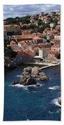 Dubrovnik By The Sea Beach Towel