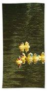 Duck Derby Ducks Beach Towel