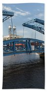 Duluth Draw Bridge 1 C Beach Towel