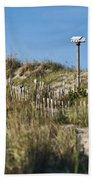 Dune Bird House Beach Towel