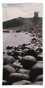 Dunstanburgh Castle Beach Towel