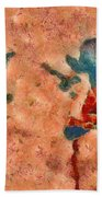 Duo Daisies - 02blt3dp1c Beach Towel by Variance Collections