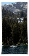 Eagle Falls Emerald Bay Beach Towel
