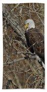 Eagle In Tree 3 Beach Towel