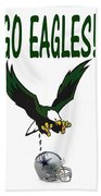 Eagles Vs Dallas Beach Towel