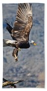 Eagle's Wings Beach Towel