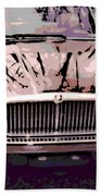 Early Jaguar Xj6 Beach Towel