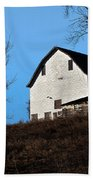 Early Morning Barn Beach Towel