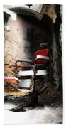 Eastern State Penitentiary - Barber's Chair Beach Towel