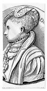 Edward Vi (1537-1553) Beach Towel