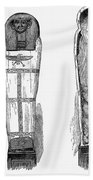 Egypt: Royal Mummies, 1882 Beach Towel