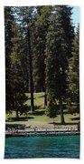 Ehrman Mansion Lake Tahoe Beach Towel