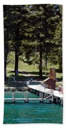 Ehrman Mansion Sugar Pine Point State Park Beach Towel