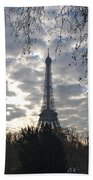 Eiffel In The Morning Beach Towel
