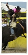 Rodeo Eight Seconds Beach Towel